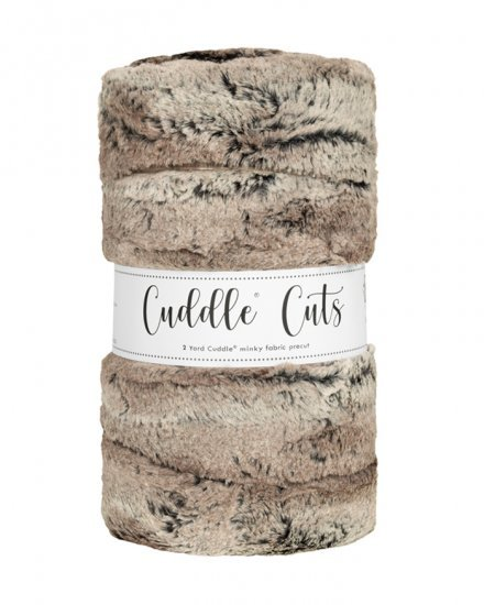 2 yd Luxe Cuddle Cut - Silver Fox