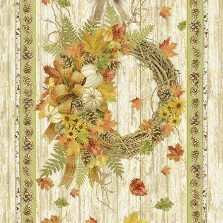 Fall Foliage - Harvest Wreath Panel