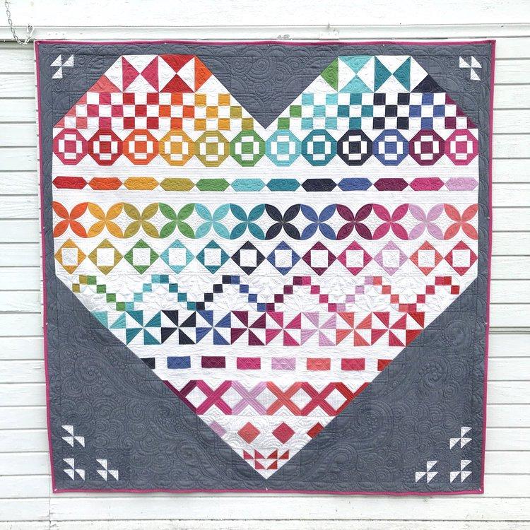 Conversation Sampler Quilt Kit with Pattern