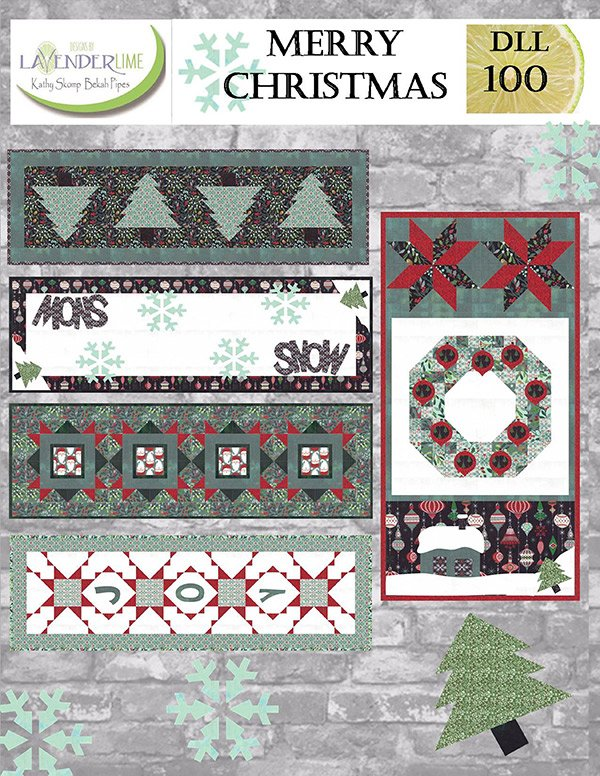 Merry Christmas Pattern Book