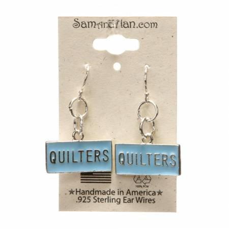 Row by Row earrings