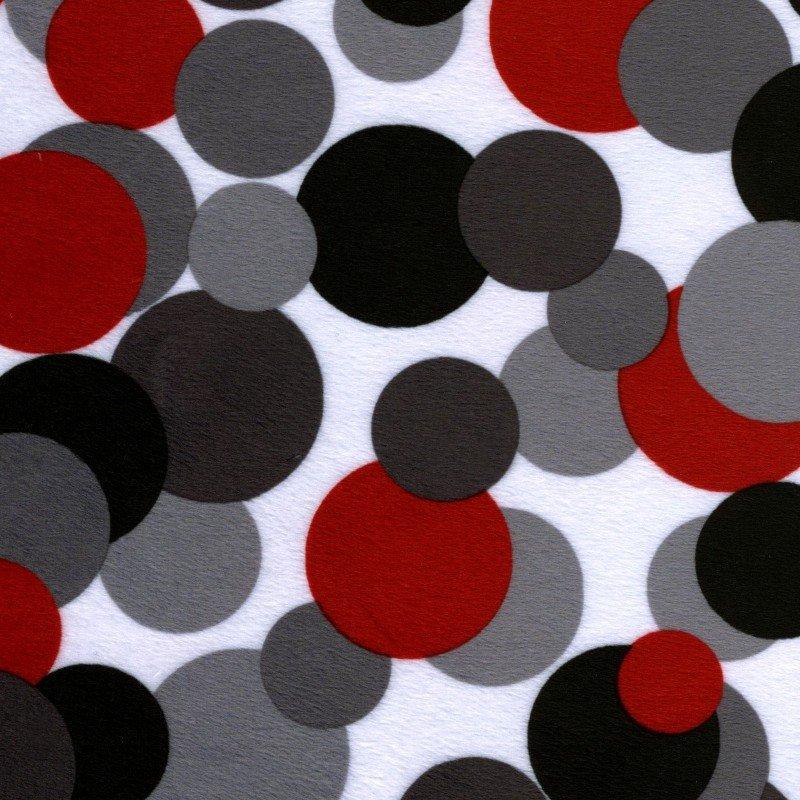Minky- Candy Circles
