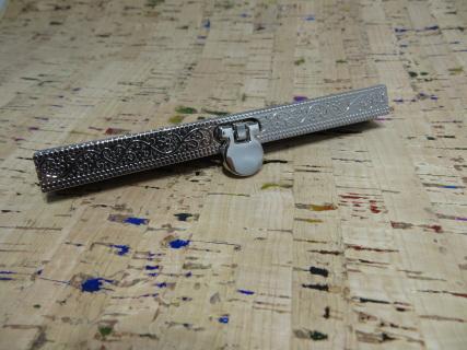 Embossed Mini Diva Frame Silver