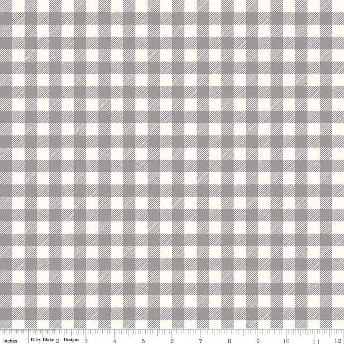 Buffalo Check Flannel - Gray