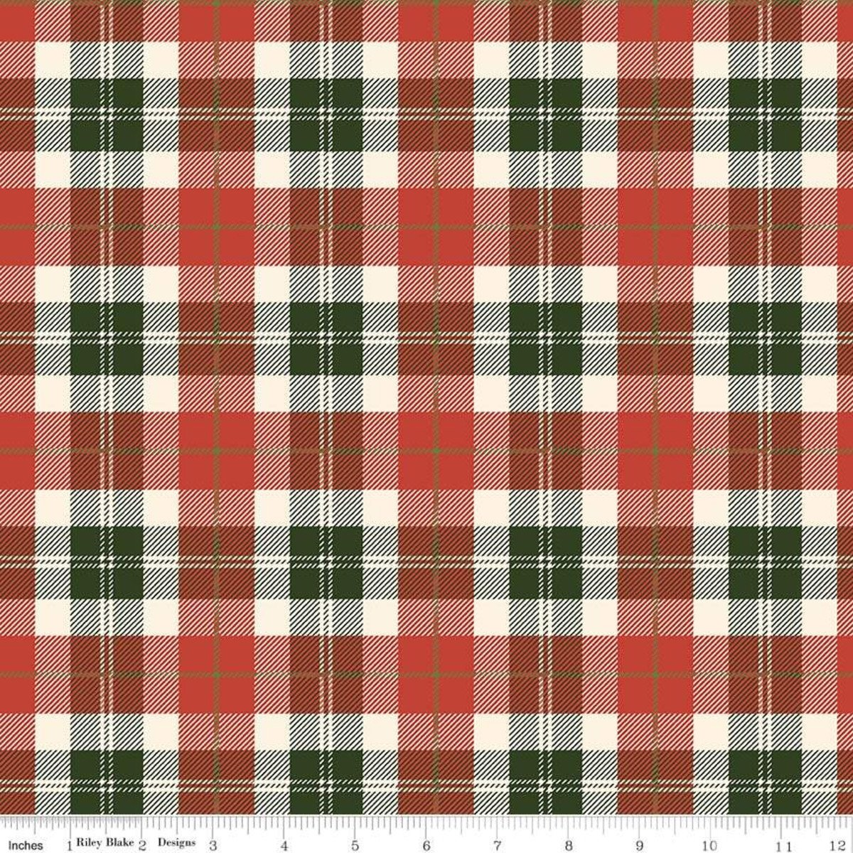 Flannel Plaid - Red/Green