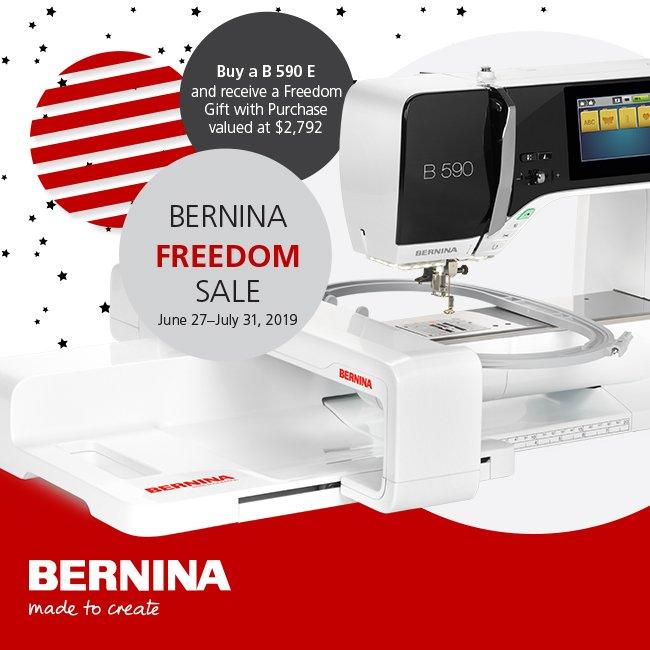 Bernina Freedom Sale