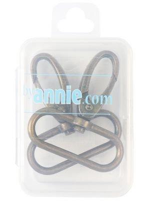 Swivel Hook 1.5 Antique Brass 2pc