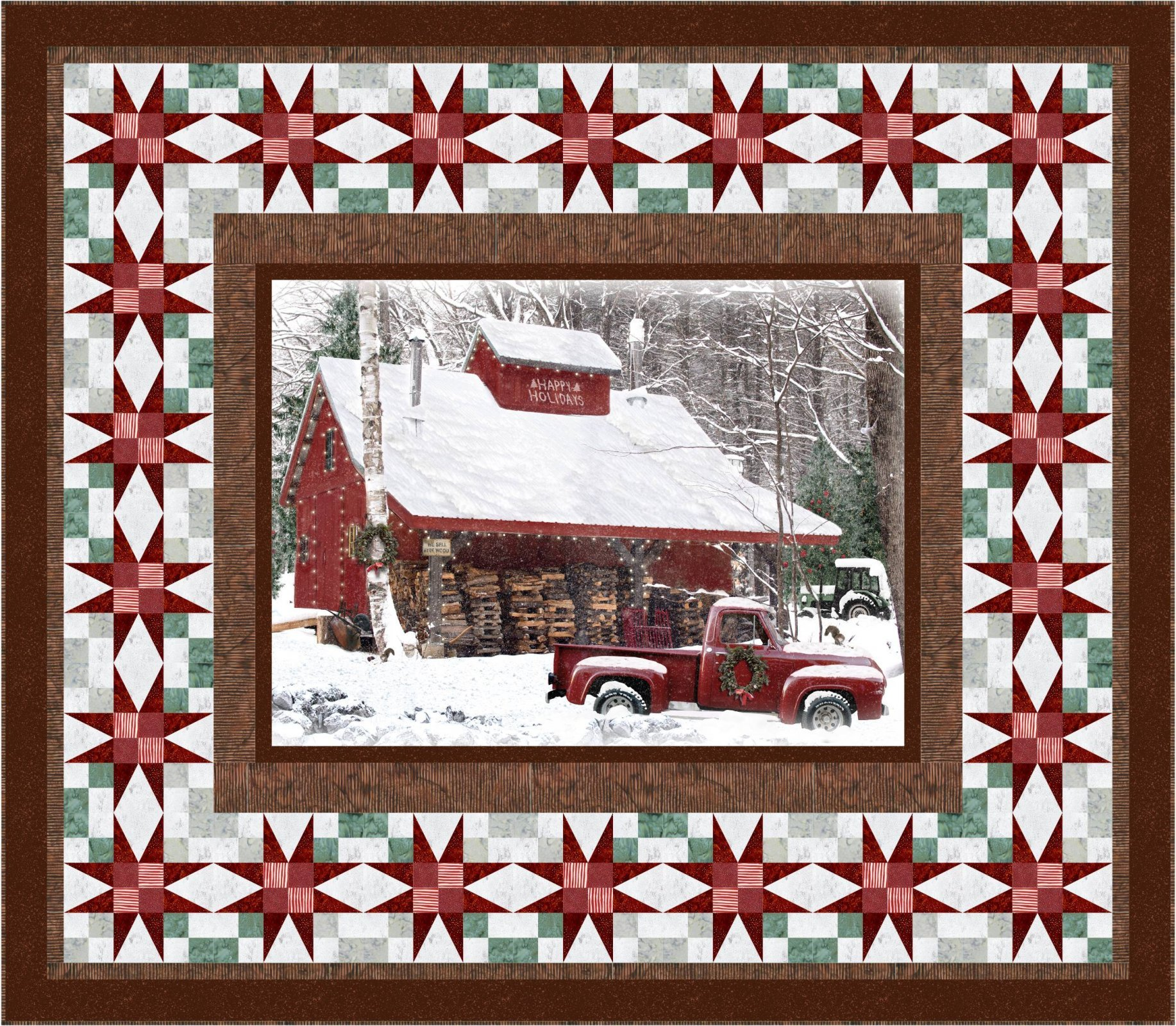 Holiday Memories Quilt Kit