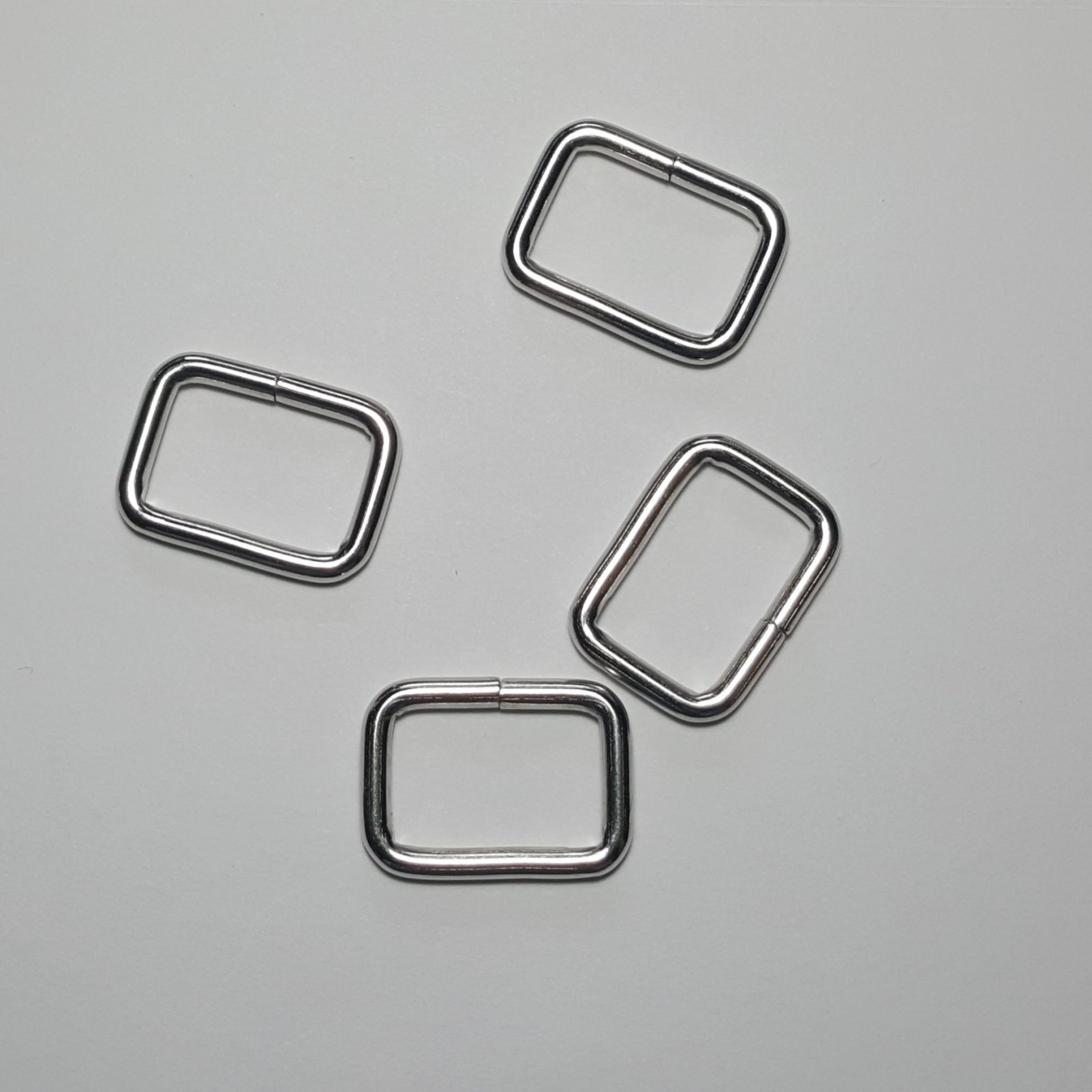 3/4- 4 Rectangle Rings - Nickel