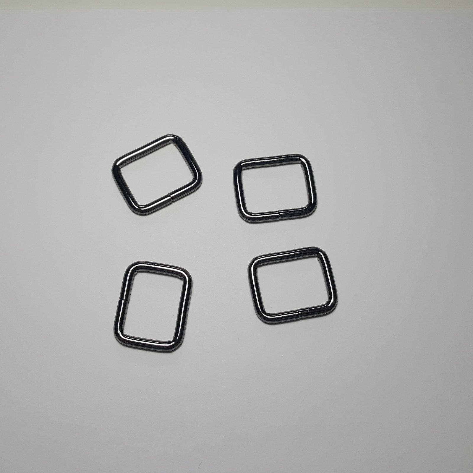 1- 4 Rectangle Rings - Gunmetal