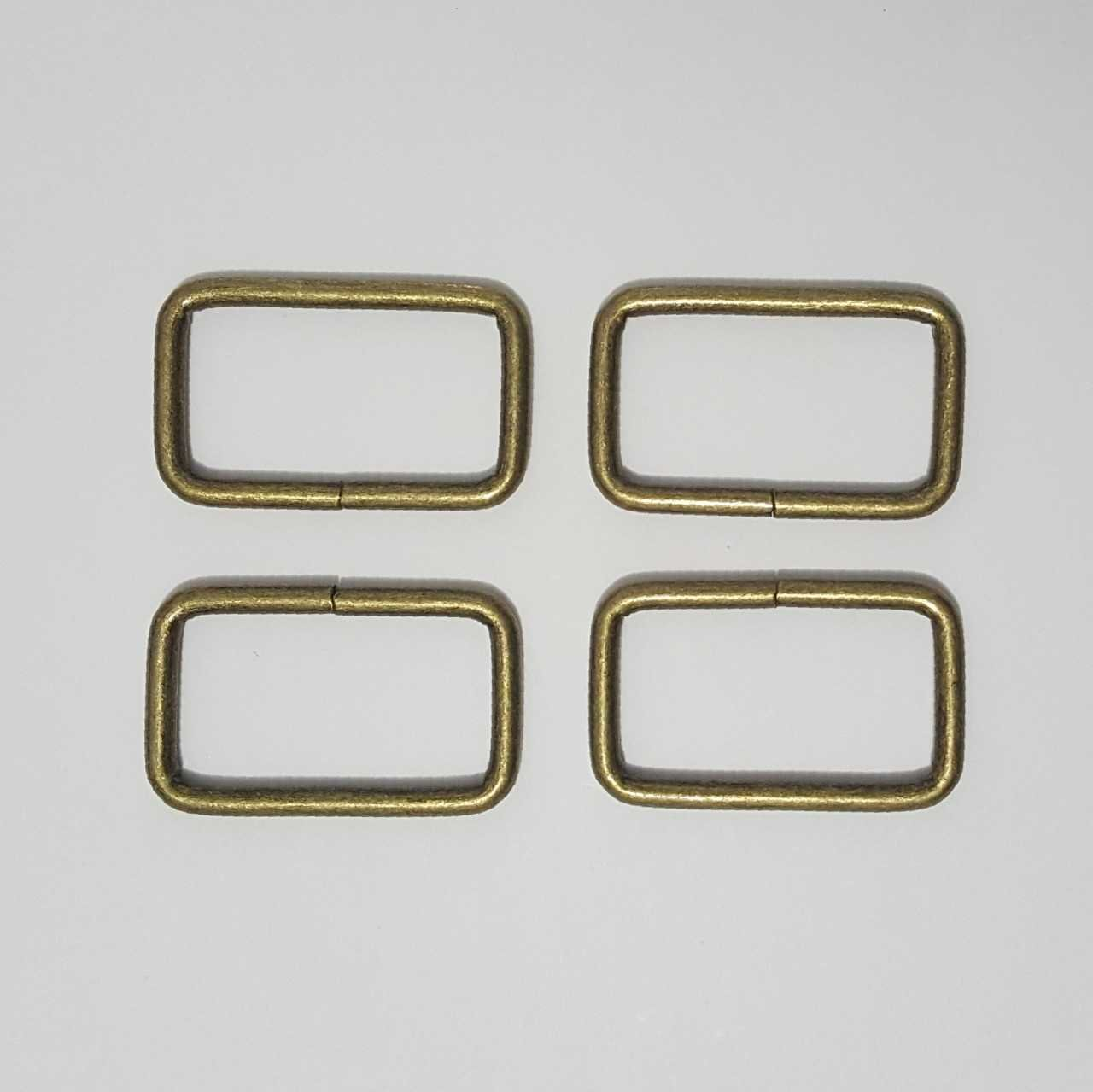 1.5- 4 Rectangle Rings - Brass