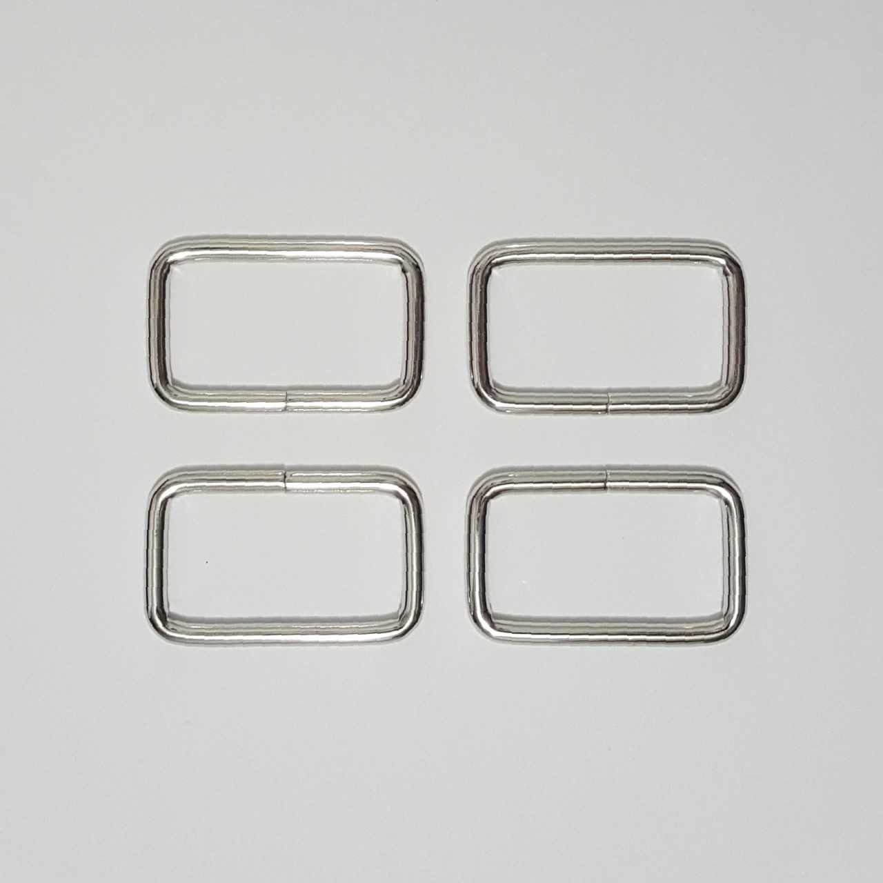 1.5- 4 Rectangle Rings - Nickel