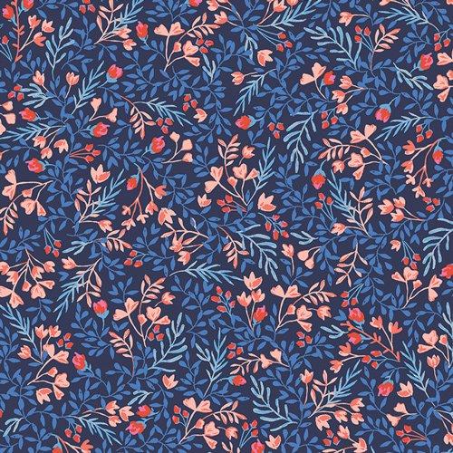 Sonata -Floral No. 9 Bold - Knit