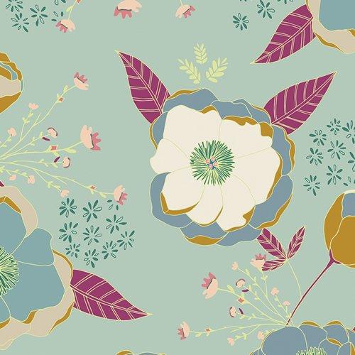 Garden Dreamer - Sprinkled Peonies - Serene - Knit