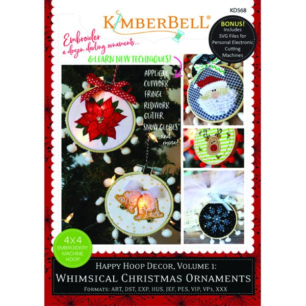 Happy Hoop Decor Vol. 1: Whimsical Christmas Ornaments