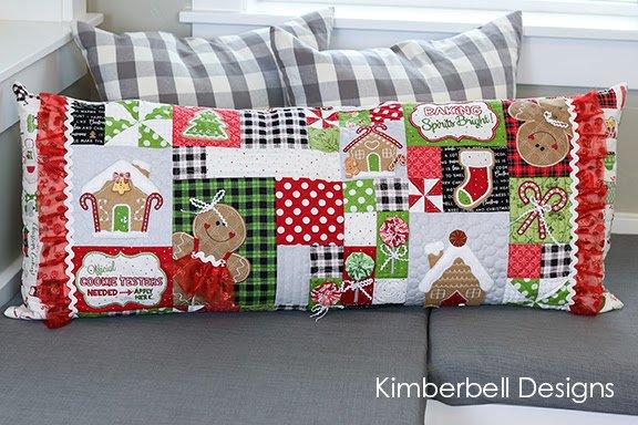 Ginger's Kitchen Bench Pillow Fabric Kit