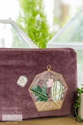 Cactus Love Zipper Pouch Kit
