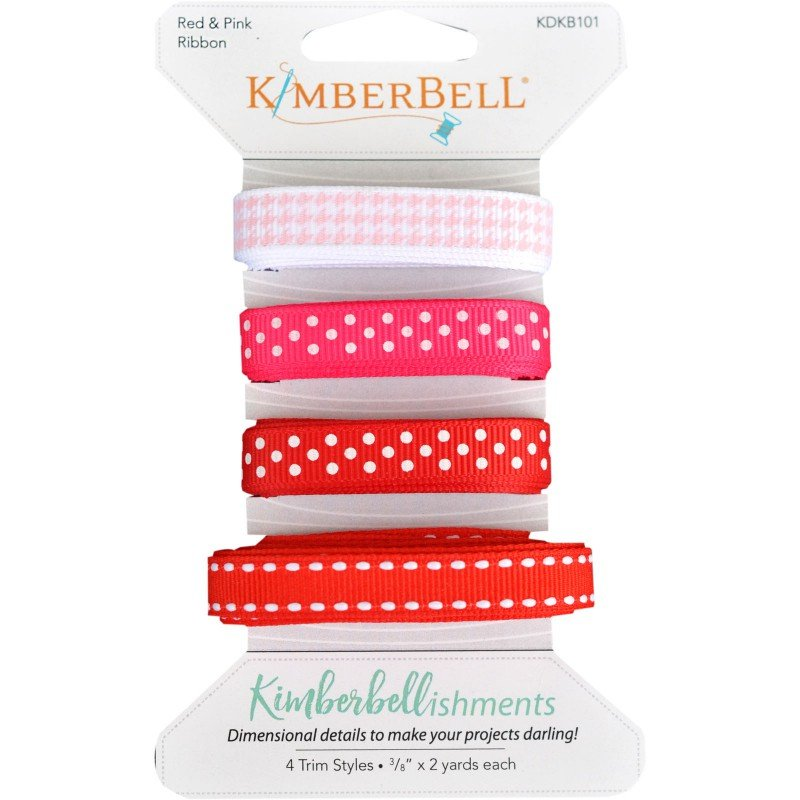 Kimberbellishments - Ribbon Assortment - Red