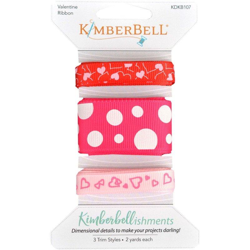 Kimberbellishments - Ribbon Assortment - Valentine