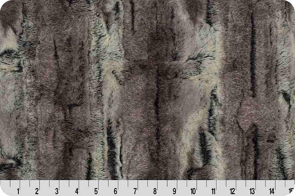Luxe Cuddle - Mountain Fox - Pewter/Beige