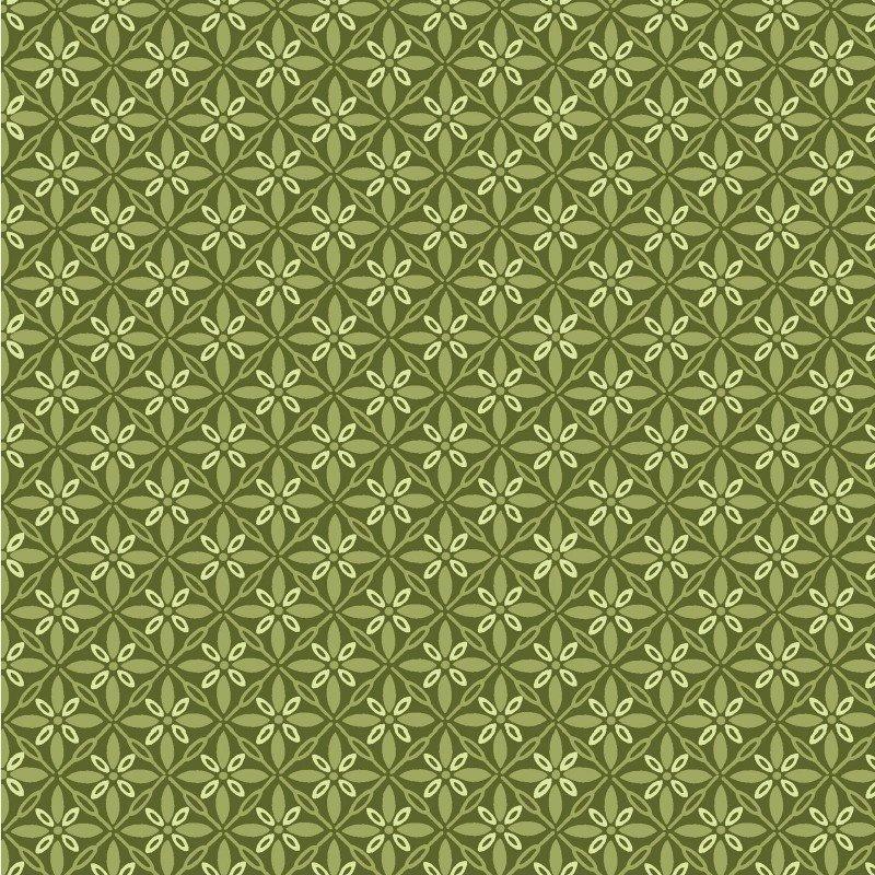 Kimberbell Basics  - Tufted Star - Green
