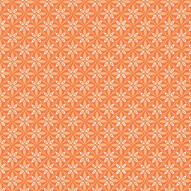 Kimberbell Basics - Tufted Star - Orange