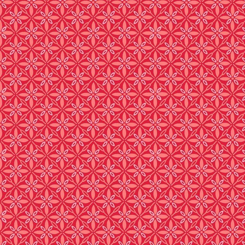 Kimberbell Basics - Tufted Star - Red