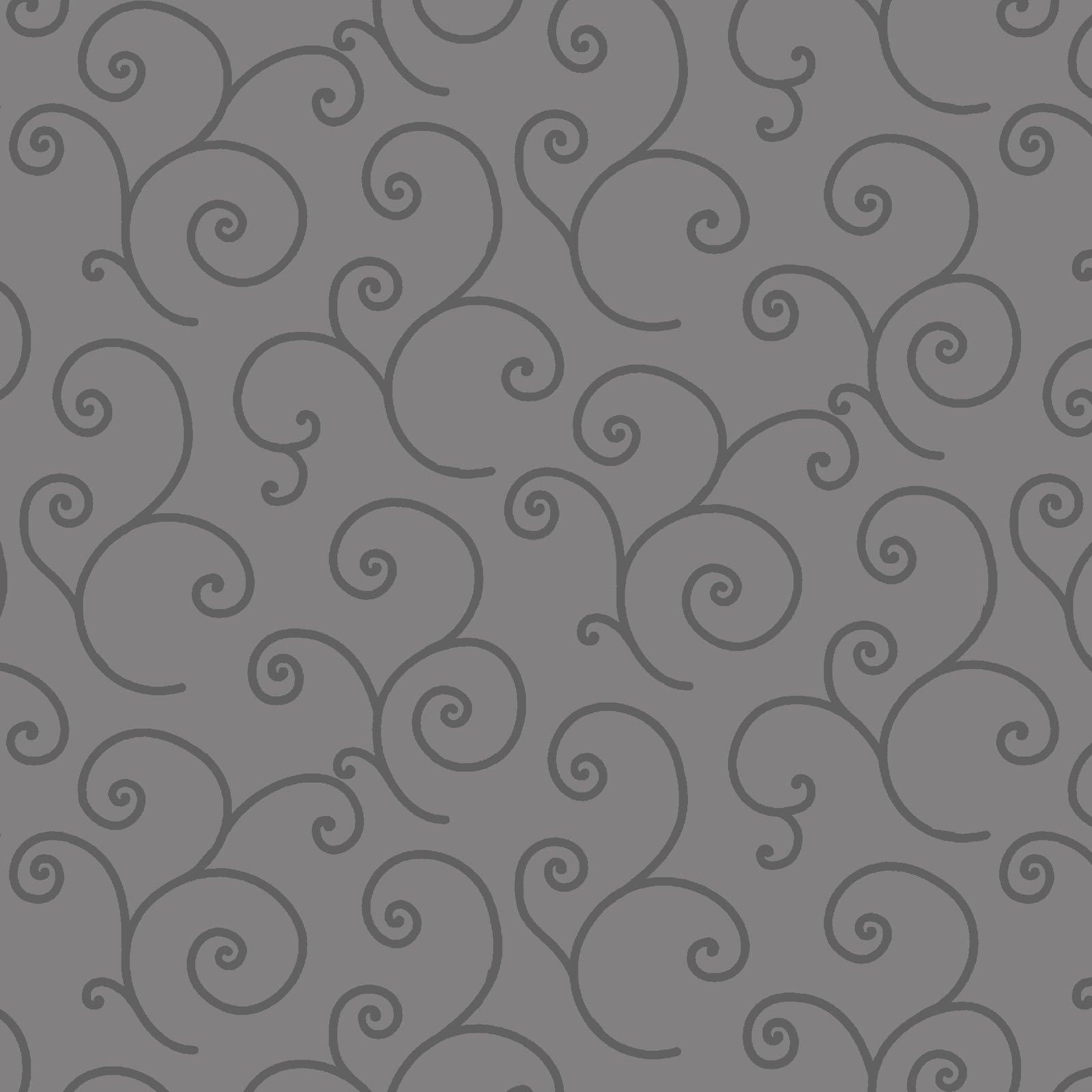 Kimberbell 108 Wide Back - Scroll - Grey