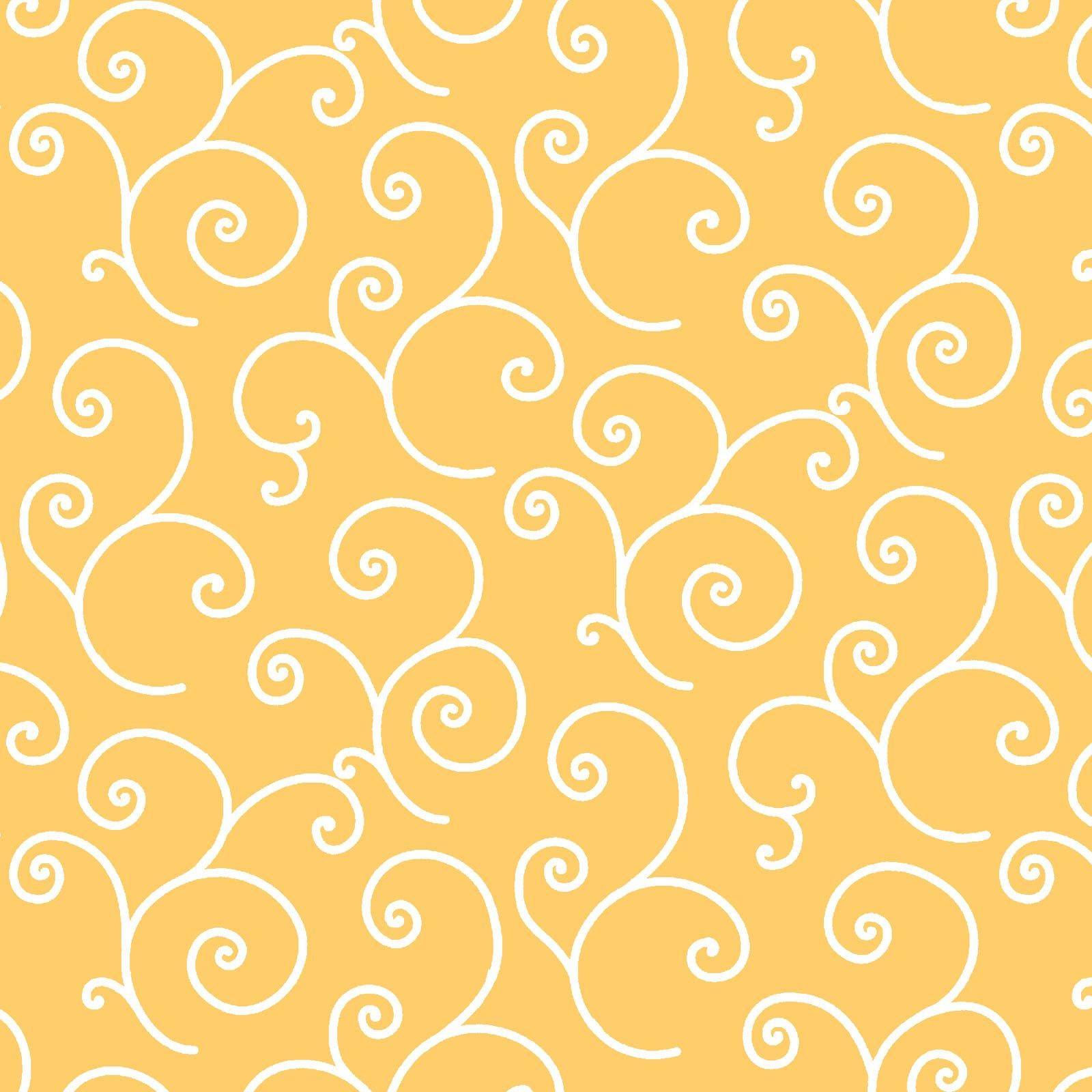 Kimberbell 108 Wide Back - Scroll - Yellow