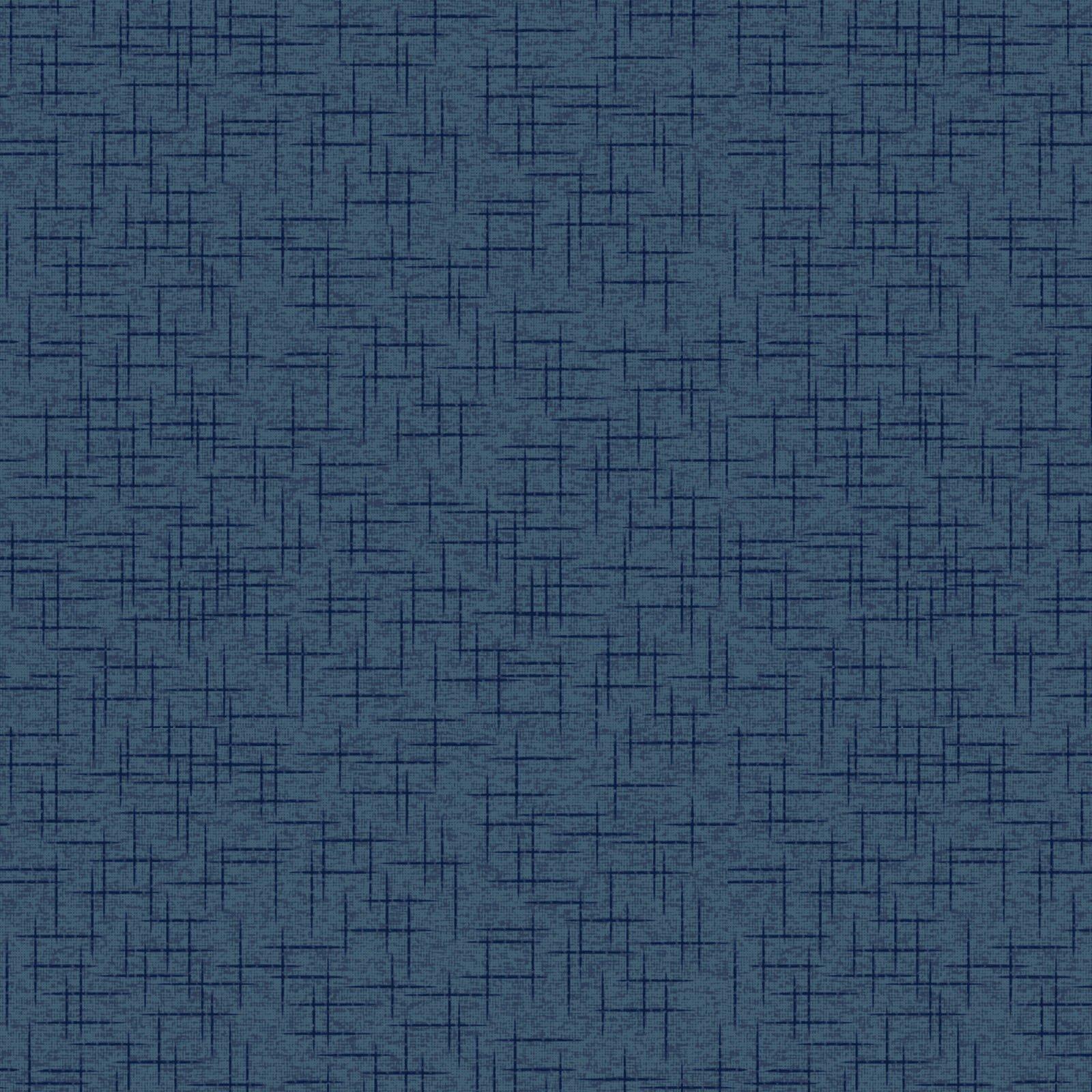 Kimberbell 108 Wide Back - Linen Texture - Navy