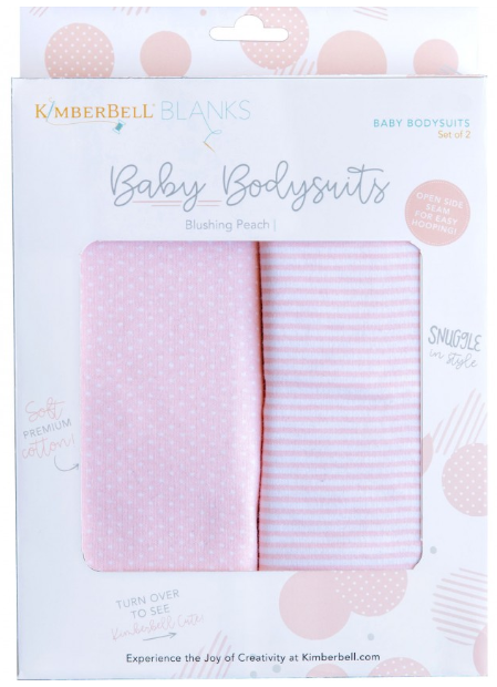 Baby Bodysuit - Blushing Peach - 6 to 9 months