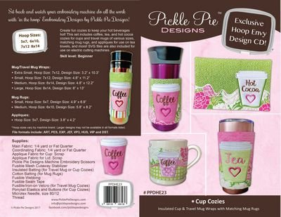 Pickle Pie: Cup Cozies Hoop Envy CD - 086156086136