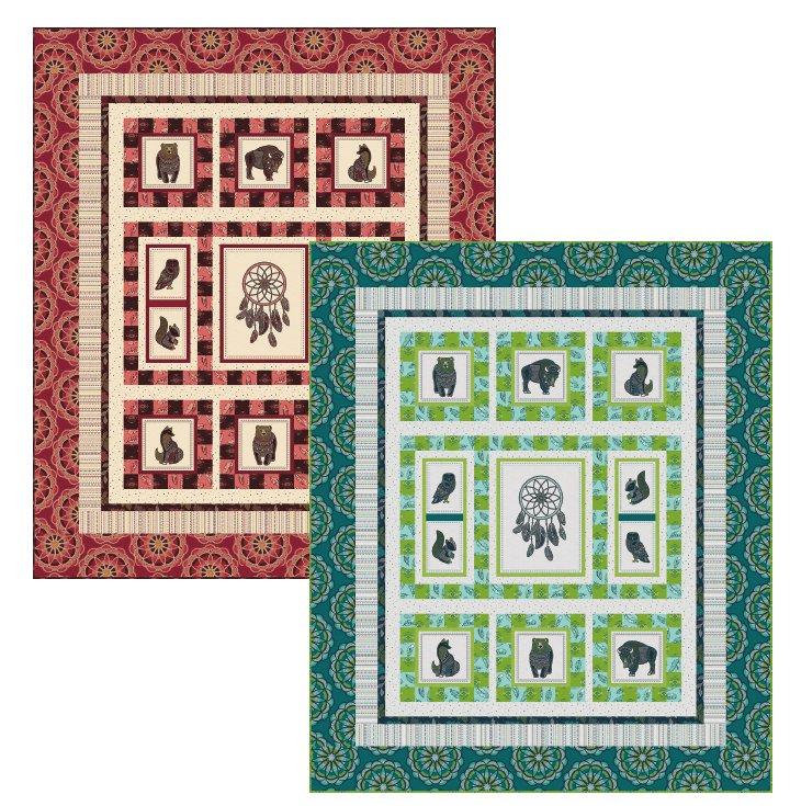 Spirit Guides Quilt Pattern