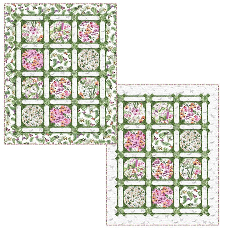 Garden Trellis Quilt Kit