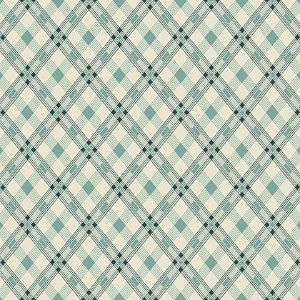 Washington Depot - Open Plaid - Teal