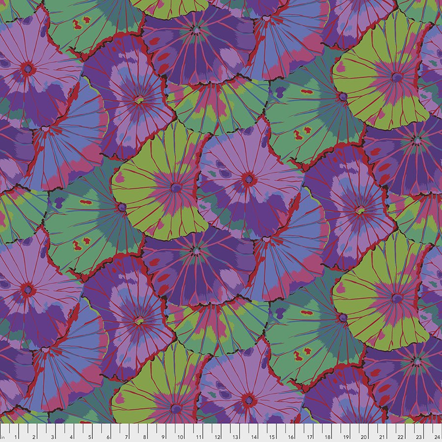 108 Wide Back - Lotus Leaf - Purple