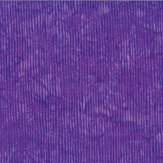 Striped Batiks - Purple