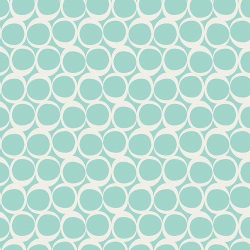 Round Elements -Seafoam Swirls