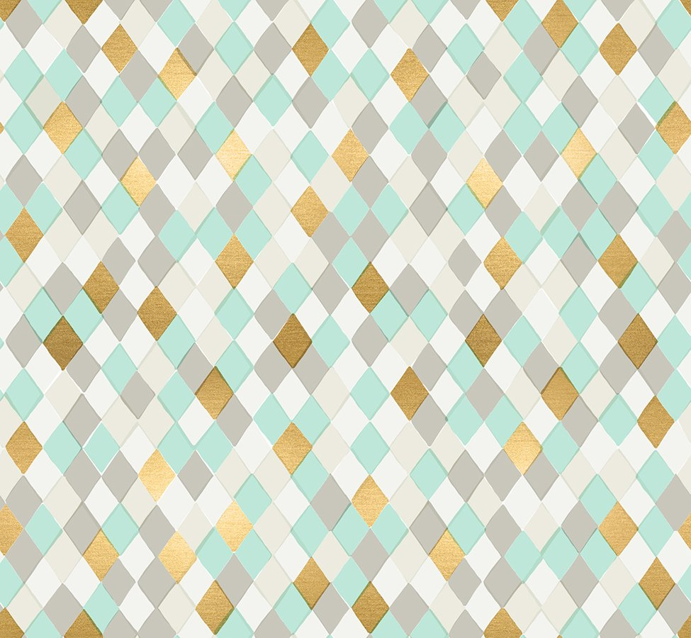 Flurry - Gift Wrap - Mint