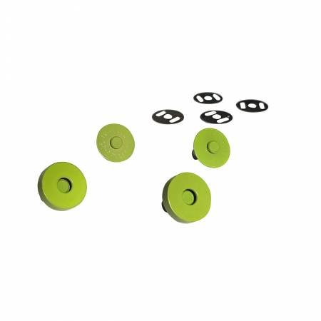 Magnetic Snaps - Lime
