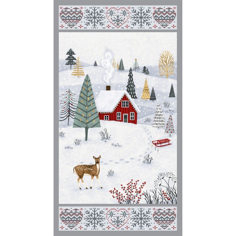 Snowy Magic - Panel