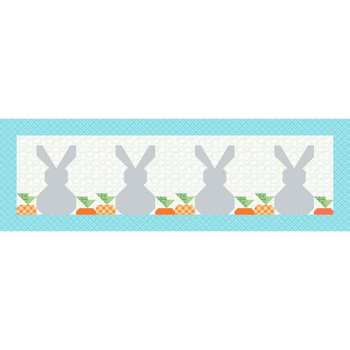 Springtime Bunnies Table Runner Kit