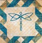 Celtic Dragonfly Pattern