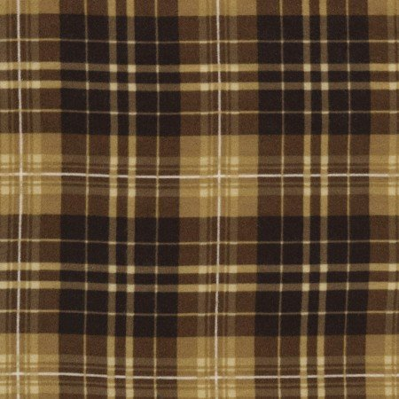 Oxford Plaids Flannel - Tartan - Chestnut