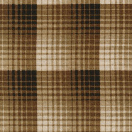 Oxford Plaids Flannel - Shadow - Caramel