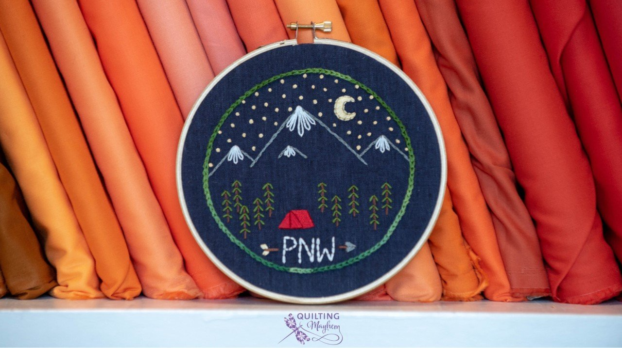 Thread Witch Embroidery Kit