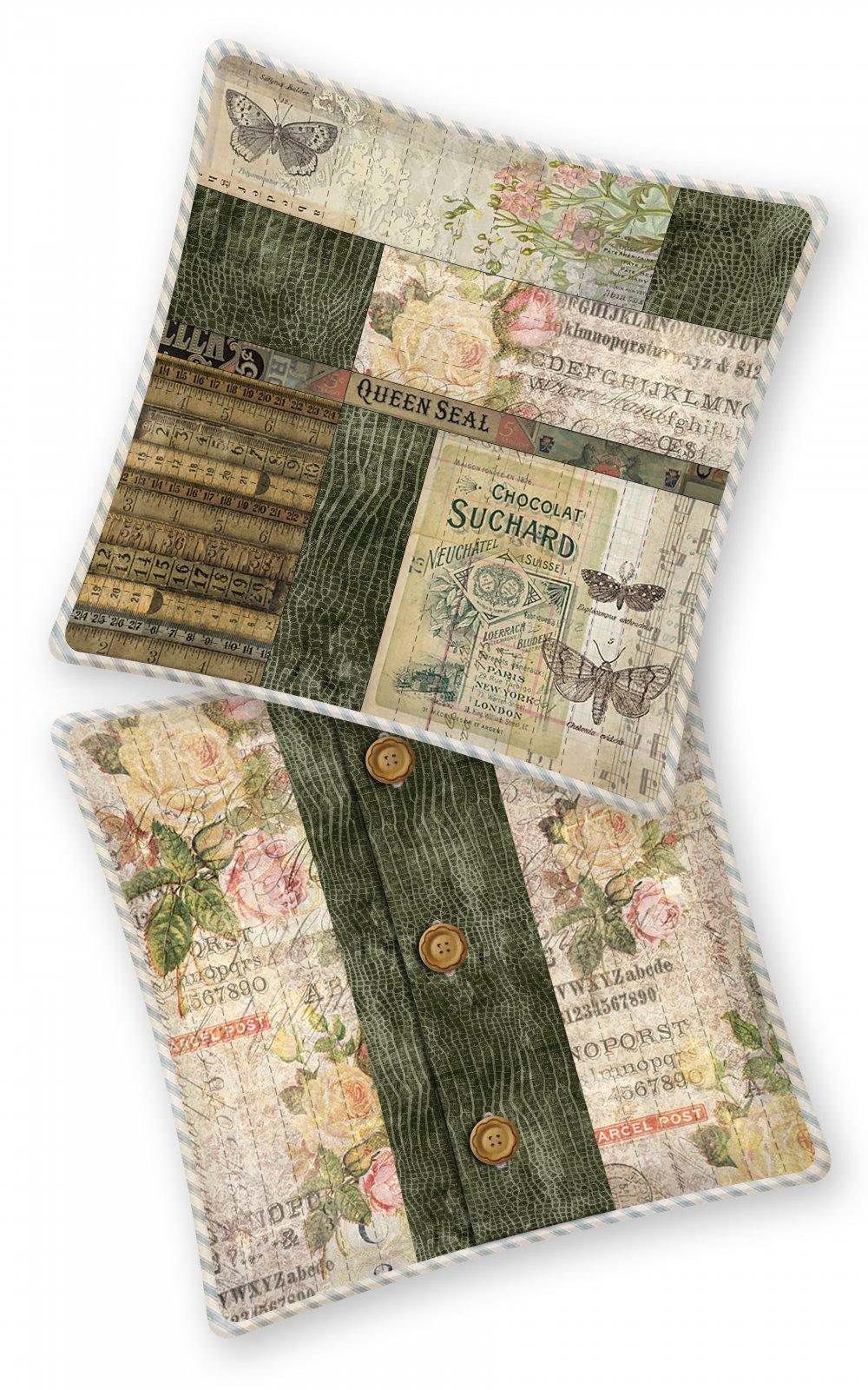Pre-order - Vintage Notes Pillow - SIY Program