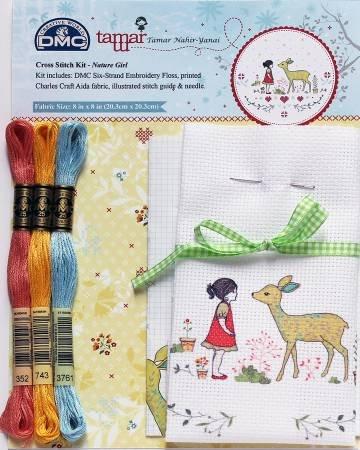 Nature Girl Cross Stitch Kit