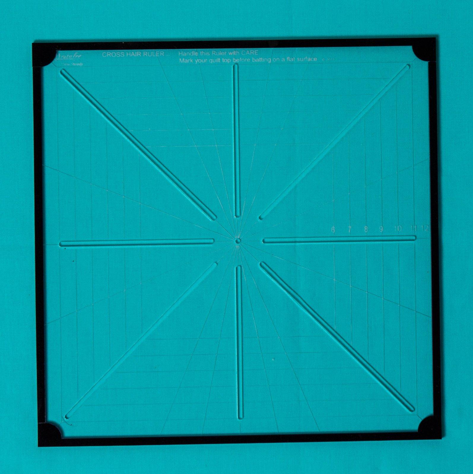 Westalee Cross Hair Square 6pt 8.5