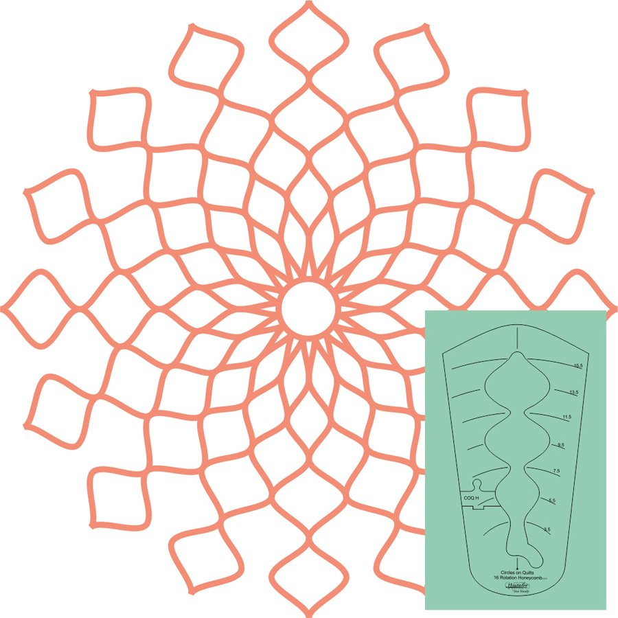 Westalee Honeycomb Template - High Shank